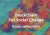 blockchain for social change